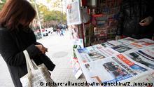Archiv: China Shanghai | Zeitungen zum Tod des Nordkoreanischen Führers Kim Jong Il