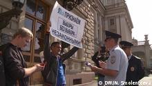 Russland Kommunalwahl Sankt Petersburg