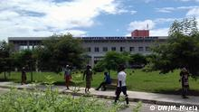 Quelimane, Mosambik, 22.07.2019+++Hospital Central de Quelimane, Quelimane Hauptkrankenhaus (c) DW/Marcelino Mueia