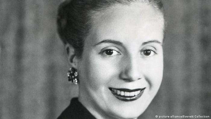 Eva Duarte de Perón. (Junio de 1948).