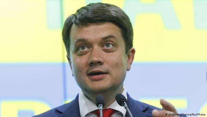 Дмитро Разумков вважає, що правоохоронні органи мають проаналізувати дані з оприлюднених Андрієм Деркачем аудіозаписів