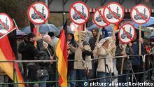 Pro NRW Mahnwache vor der Mülheimer Fatih-Moschee