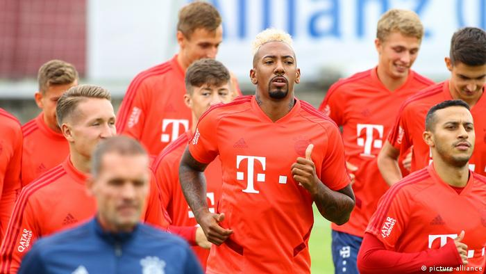 FC Bayern München Training (picture-alliance)