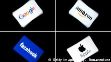 Logos | Google | Amazon | Facebook | Apple