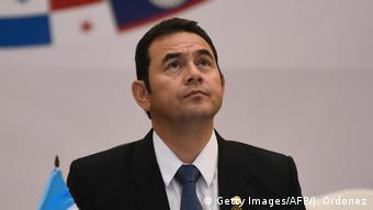 Staatspräsident Jimmy Morales (AFP)