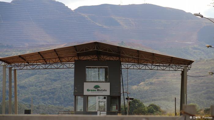 Bergbau als Haupteinkommen (DW/N. Pontes)