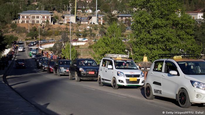 Autoboom in Bhutan (Getty Images/AFP/U. Dahal)