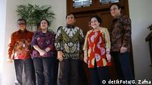 Treffen Prabowo und Megawati Indonesien
