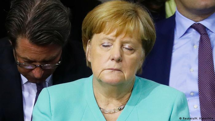 Worries On The Horizon For Angela Merkel Germany News And In Depth Reporting From Berlin And Beyond Dw 14 08 2019