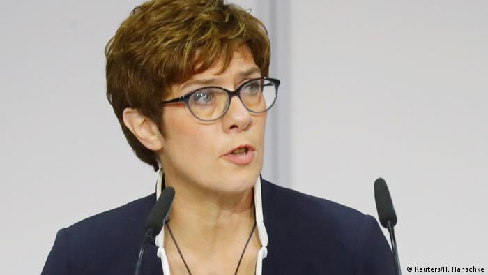 Annegret Kramp-Karrenbauer, German defense minister