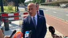 Premierminister Ramush Haradinaj Kosovo