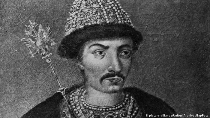 Борис Годунов - русский царь.