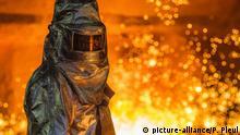 Deutschland ArcelorMittal in Eisenhüttenstadt