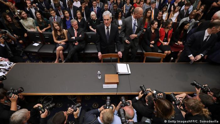 USA Aussage des Ex-Sonderermittler Mueller vor dem US-Kongress (Getty Images/AFP/C. Somodevilla)
