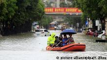 Starker Regen verursacht Überschwemmungen in der südchinesischen Stadt Zhuhai