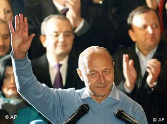 Traian Băsescu la alegerile din decembrie 2009