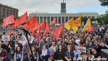 Kundgebung für freie Wahlen in Sankt-Petersburg