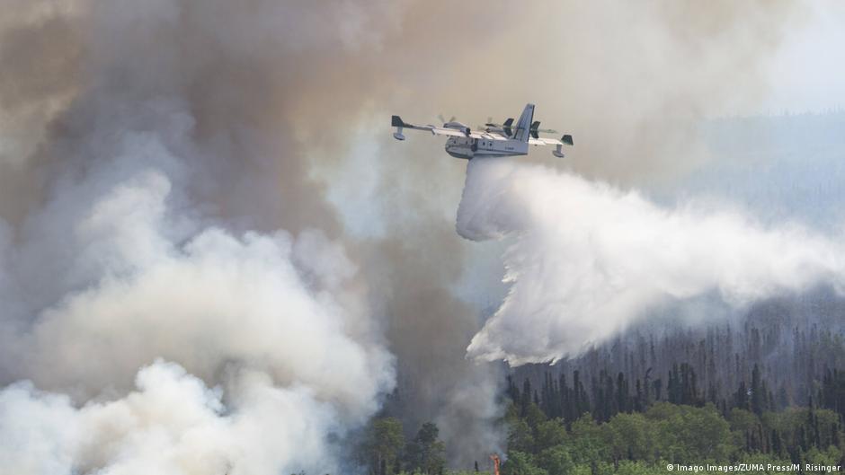 Waldbrände Alaska Karte.Hitzewelle In Der Arktis Könnte Kettenreaktion In Gang Setzen
