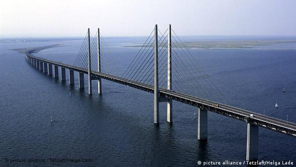 Эресуннский мост, фото из архива