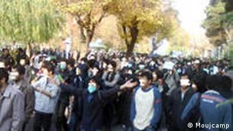 Studentenprotest Teheran Iran