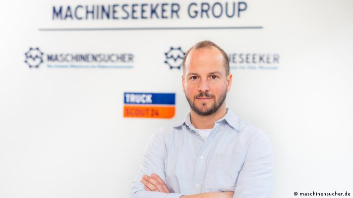 Torsten Mušler: osnivač platforme maschinensucher.de