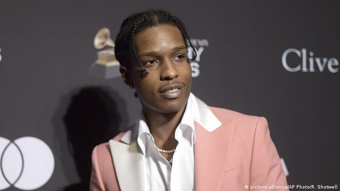 American rapper A$AP Rocky