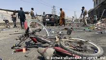 Afghanistan | Schäden nach Selbstmordattacke