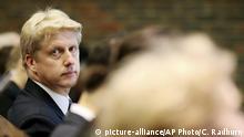 Großbritannien Universität von Cambridge | Jo Johnson, Bruder von Boris Johnson