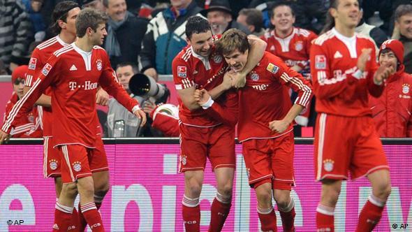 Flash – Galerie Bundesliga Bayern - Mönchengladbach