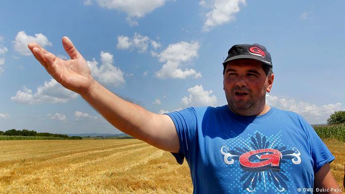Nenad Nikolić nije znao da će mu uništiti pšenicu