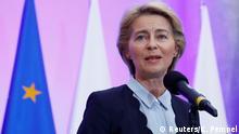 Polen, Warschau: Ursula von der Leyen und Premierminister Mateusz Morawiecki