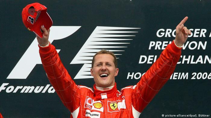 Formel 1 Grand Prix auf dem Hockenheimring Michael Schumacher