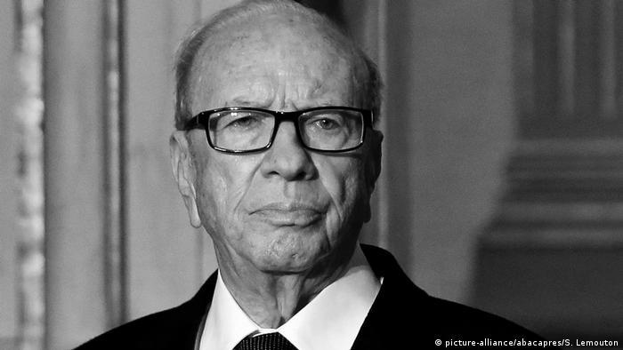 Frankreich Paris   Tunesiens Präsident Beji Caid Essebsi (picture-alliance/abacapres/S. Lemouton)