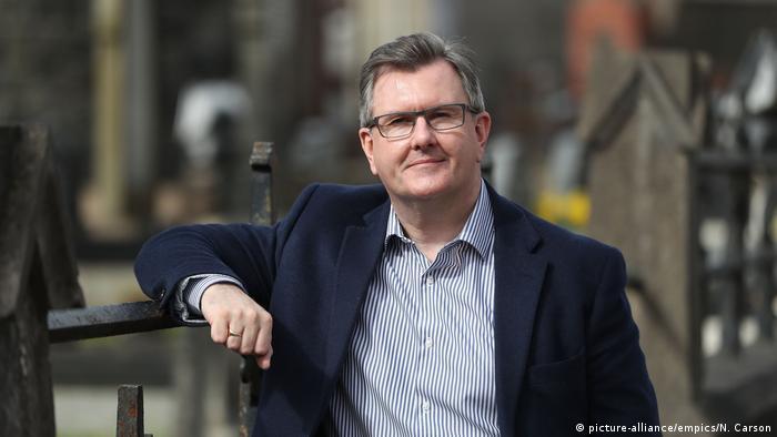 Sir Jeffrey Donaldson von der nordirischen DUP (Foto: picture-alliance/empics/N. Carson)