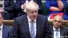 Großbritannien London   Neuer Premierminister Boris Johnson spricht im britischen Unterhaus