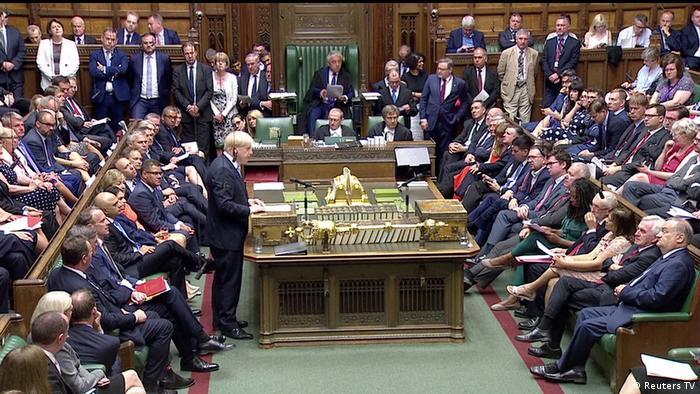 Großbritannien London | Neuer Premierminister Boris Johnson spricht im britischen Unterhaus (Reuters TV)