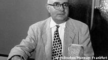 Theodor Adorno im Rundfunk, Frankfurter Schule, Foto: Pressematerial vom Jüdischen Museum Frankfurt am Main
