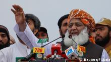 Pakistan, Peshawar: Proteste gegen die Regierung von Imran Khan - Fazal-ur Rehman