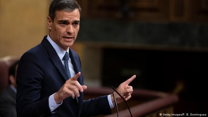 Spanish Prime Minister Pedro Sanchez speaks