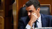 Spanien Madrid | Pedro Sanchez im Parlament
