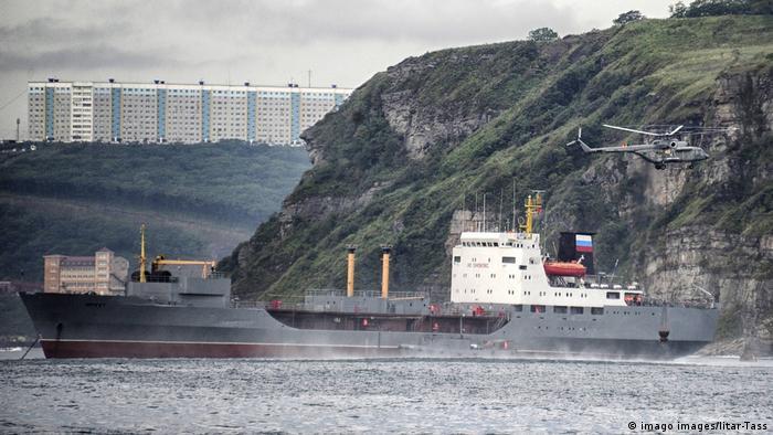 Russian tanker in the Black Sea