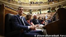 Spanien Zweite Abstimmung über die Wiederwahl von Pedro Sánchez