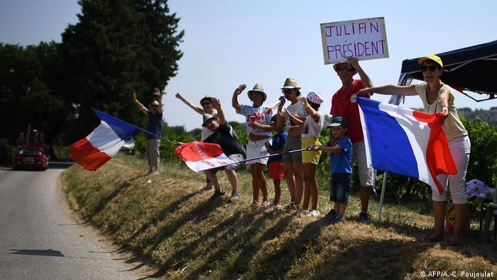 Tour de France, fans franceses.