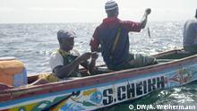 Senegal   Fischhändler Mouhamed Mbaye