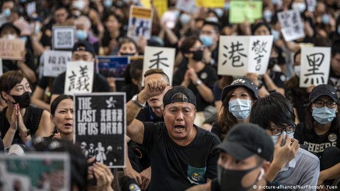 Anti-Extradition Protest In Hong Kong International Airport