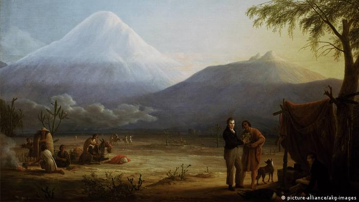 Painting by Friedrich Georg Weitsch of Humboldt in America (picture-alliance/akg-images)