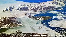 Grönland Eisschild Eisschicht