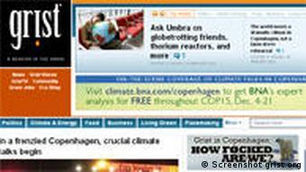 Screenshot of Grist.org