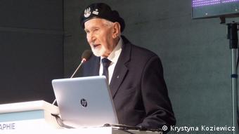 Jeden z niewielu żyjących powstańców Leszek Żukowski