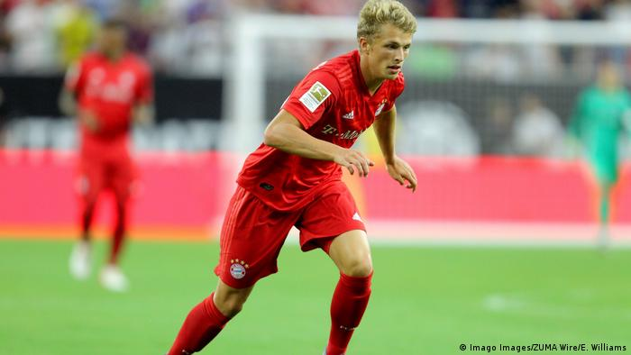 Fussball Bundesliga FC Bayern München - Spieler Jann Fiete-Arp (Imago Images/ZUMA Wire/E. Williams)